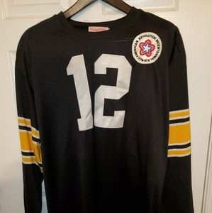 Terry Bradshaw 1975 Mitchell & Ness Throwback